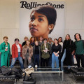 Digital Journal of Ideas and Culture students at Rolling Stone headquarters in Manhattan.