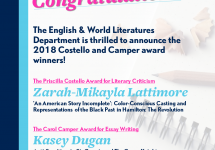 2018 EWL Literary Awards