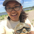 Biology major Lesly Castillo '21