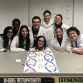 "Cell and Molecular Biology students master the ""art"" of pipetting."
