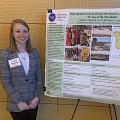 Madison Weisend '20 presenting at Mid-Atlantic SENCER conference