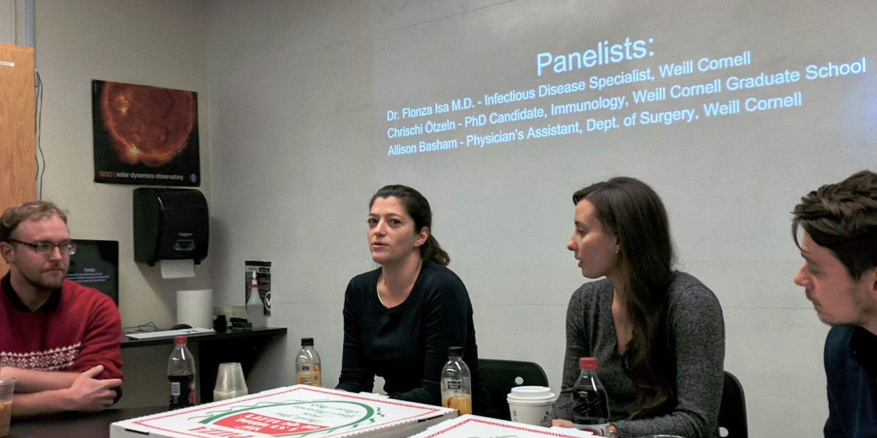 Science Society Hosts Weill Cornell Scholars for Epidemics Panel