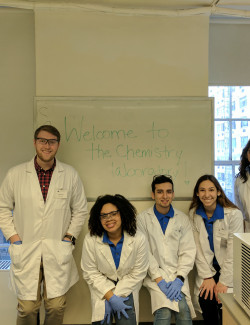 Accepted Science Students: A Night to Remember