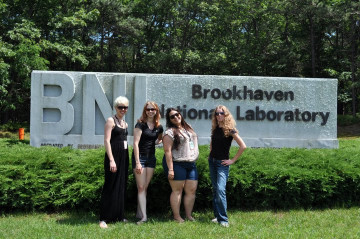 Leri Research Group 2010-11.  Left to right: Laura Herren, Laura Anthony, Chrissy Galifianakis, A...
