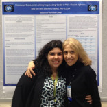 Kelly Ann Peña with Dr. Ann Jablon, Professor of Speech-Language Pathology