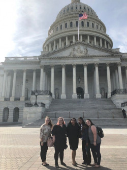 Students take part in ASHA Student Hill Day on Capitol Hill