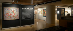 Ben Wilson exhibition at The George Segal Gallery, Montclair State University, September - November, 2017