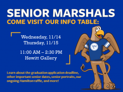Senior Marshals Tabling