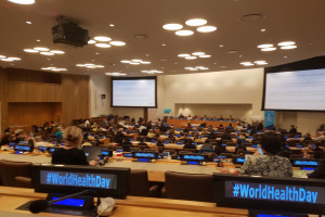 World Health Day at the UN with Move to Empower