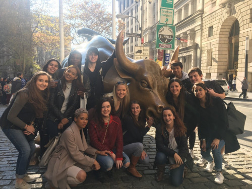 NYC Seminar - section 6 takes the Bull by the Horns. November 2016