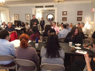 Students, faculty and staff came together in October for a Strategic Planning Community Conversation.