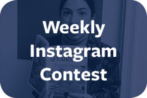 "<p><a href=""/offices/career-services/social-media/weekly-instagram-contest/"" target=""_blank"" rel=""noopener noreferrer"">Snap a photo of you at your internship and you could win a $10 Starbucks gift card.</a></p>"