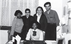 HEOP staff and students circa 1983