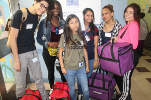 HEOP students at the Stanley Isaacs Neighborhood Center