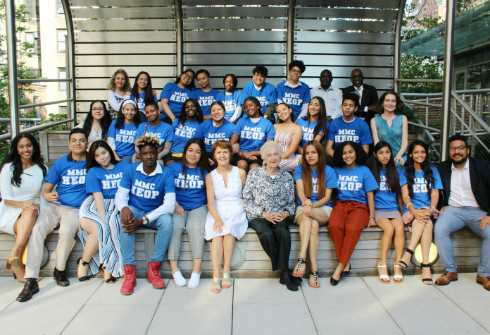 "In summer 2019, Marymount Manhattan welcomed the HEOP ""Jubilee"" Class of 2023, the Program's ..."