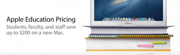 Apple Educational Pricing