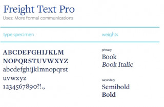 Freight Text Pro font