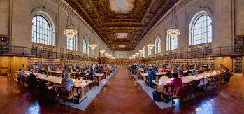 NYPL Research Room. Photo by DAVID ILIFF. License: CC-BY-SA 3.0