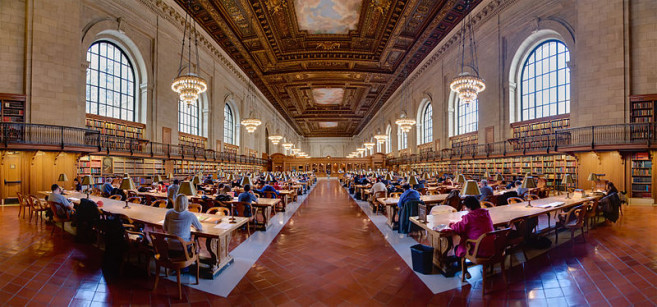 Nyc Public Library Reserve Room