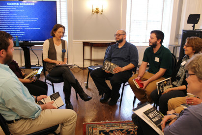 Break out session group led by Catherine Cabeen, MFA (Dance)
