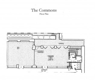 The Commons floorplan