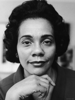 Coretta Scott King, activist and civil rights leader