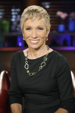 "Barbara Corcoran, businesswoman, co-host of ABC's ""Shark Tank"""