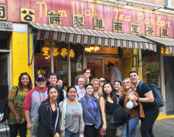 NYC 105 field trip to Chinatown