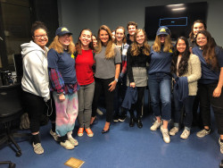 Visit from Good Morning America producer