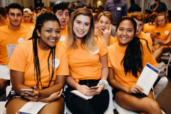 Students enjoy the 2018 Convocation Ceremony