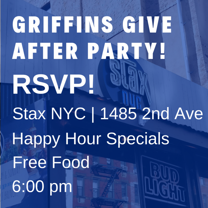 Griffins Give After-Party at Stax NYC