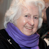 "Sister Margaret Ann Landry at MMC's ""Christmas with the RSHM"" event, December 2014"