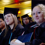 Senior Marshals during the 2012 Commencement Ceremony