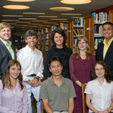 MMC welcomes the 2008-2009 new faculty: (BACK ROW, from left) Peter D. Schaefer, Ph.D., assistant professor of communicati...