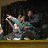 The Avodah Dance Ensemble (Newman Taylor Baker, Julie Gayer Kris, Sarah Zitnay) choreographed a performance with Bedford H...