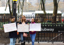 MMC students protest for accessibility in NYC subways