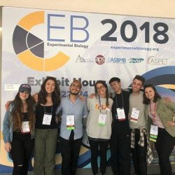 Biology Students Present at National Conference