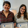 Professors Erin Greenwell (Communication and Media Arts) and Nava Silton (Psychology) receive 201...