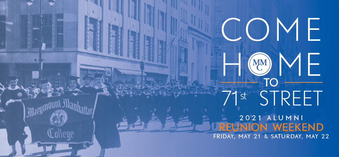 2021 Alumni Reunion Weekend will be on Friday, May 21 and Saturday, May 22