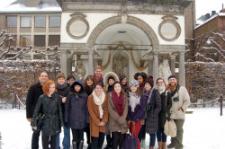 Study abroad with Rob Dutiel at the Rubenshuis, Antwerp, January 2013.