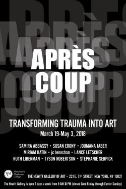 Apres Coup Exhibition, March 19–May 3