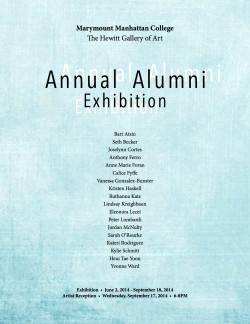 Annual Alumni Exhibition