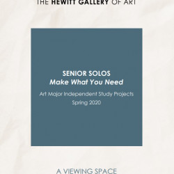 Virtual Senior Solo Exhibition