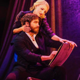 Annaleigh Ashford and Jake Gyllenhaal in SUNDAY IN THE PARK WITH GEORGE, on Broadway