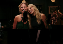 Jennifer Nettles and Annaleigh Ashford