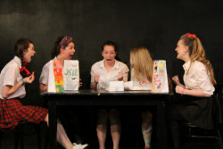 An Advanced Playwriting project performed in the College's Bordeau Box Theatre.