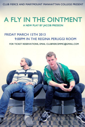 A New Play by Jacob Presson, written and performed by students in the Department of Theatre Arts.