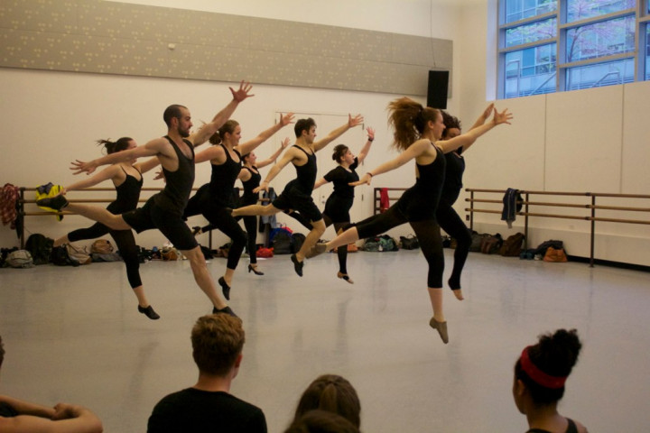 Musical Theatre Daily Dance (Photo by Stefanie Flamm)