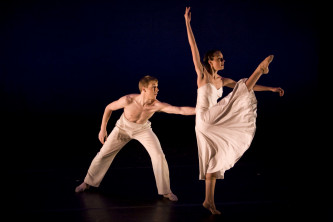 Choreography by Francisco Martinez, Photo by Rosalie O'Connor