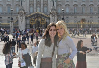 Katie Call and Jessica Altchiler 16' in London